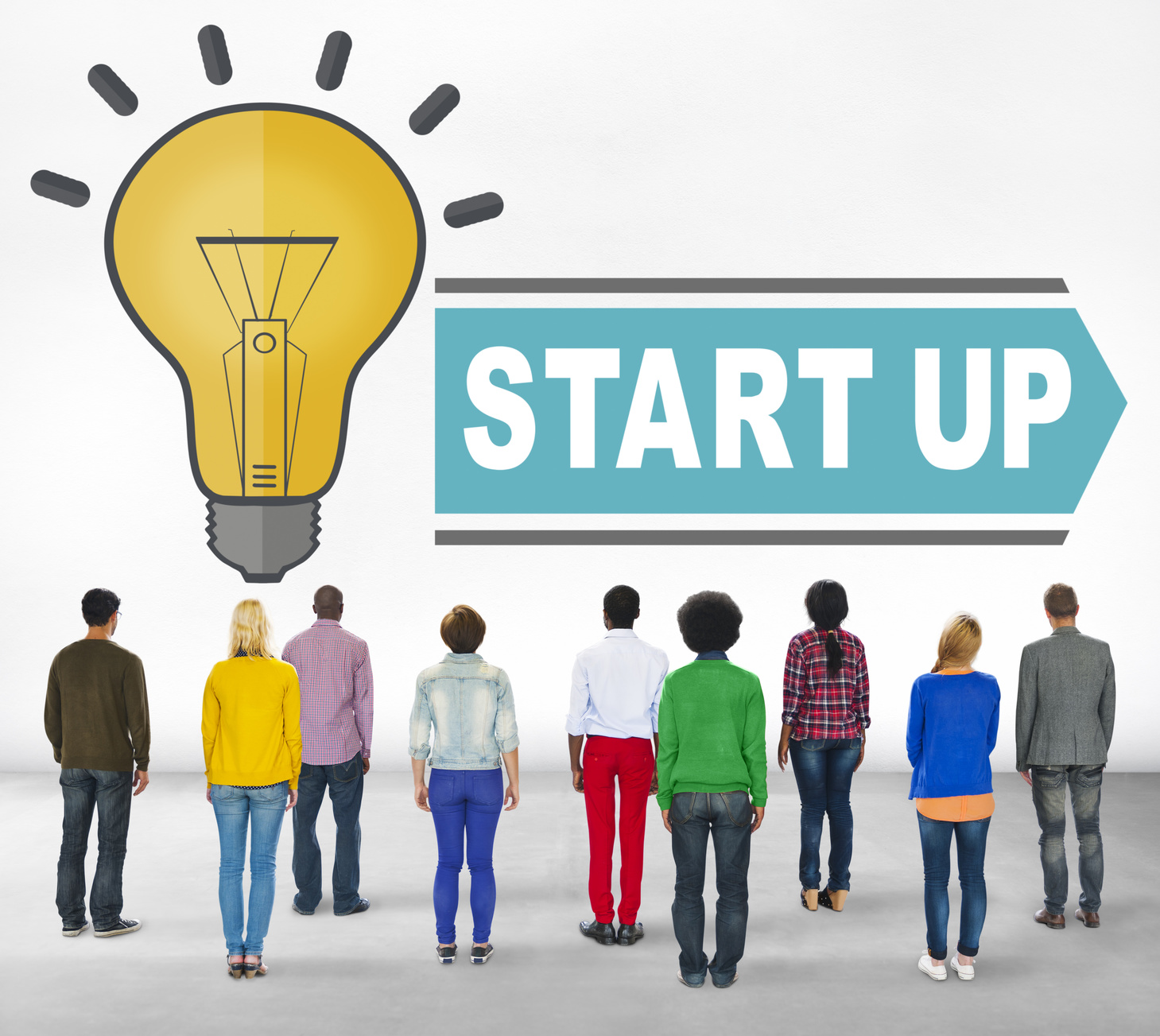 Start Up New Business Strategy Ideas Concept