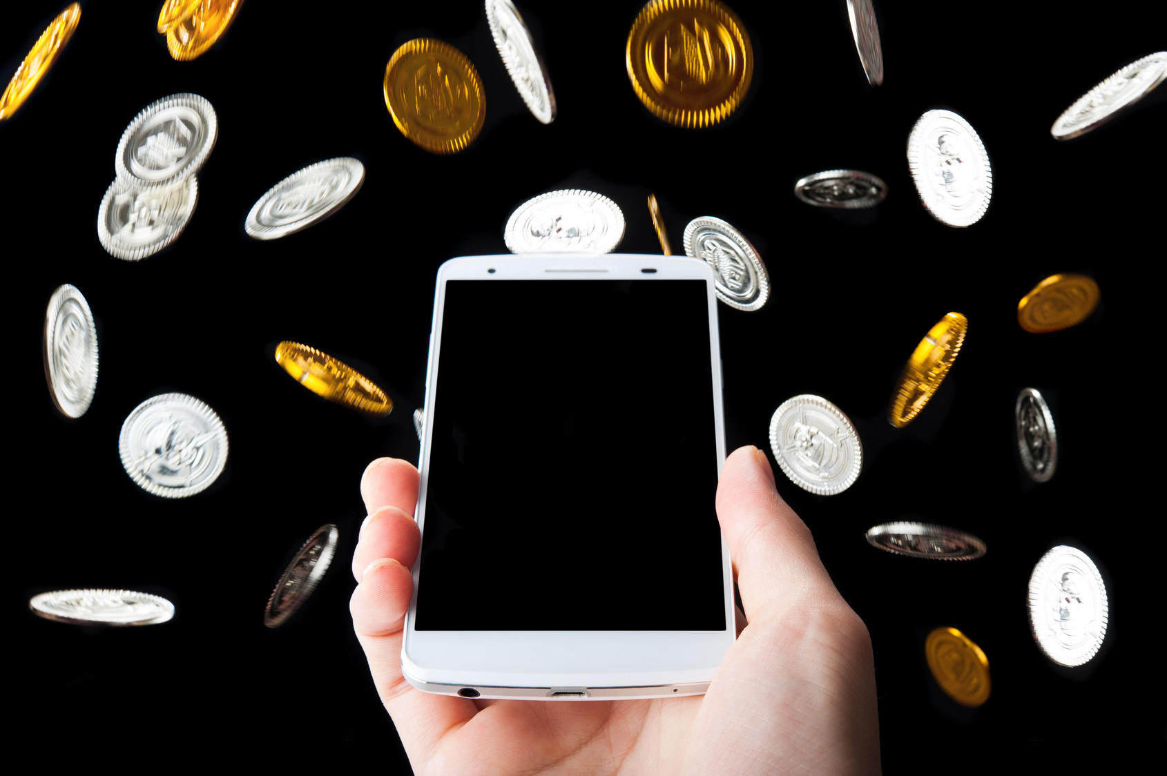 お金を稼ぐスマートフォン,黒枠